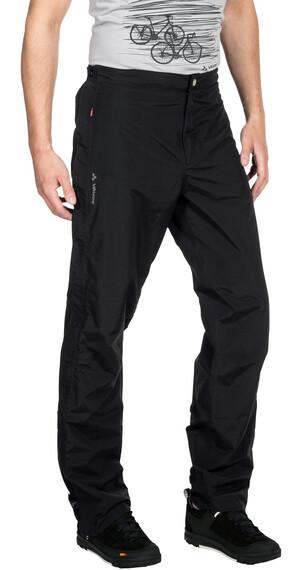 VAUDE M's Yaras II Rain Zip Pants black
